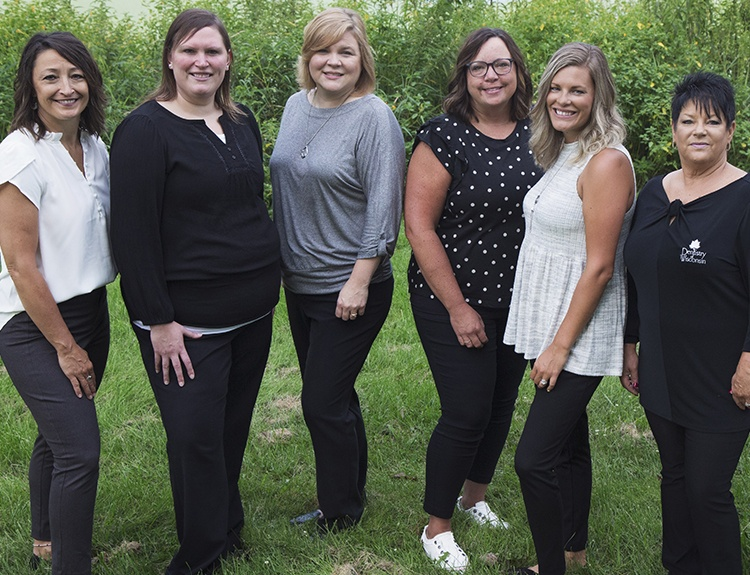 Dentistry of Wisconsin front office staff